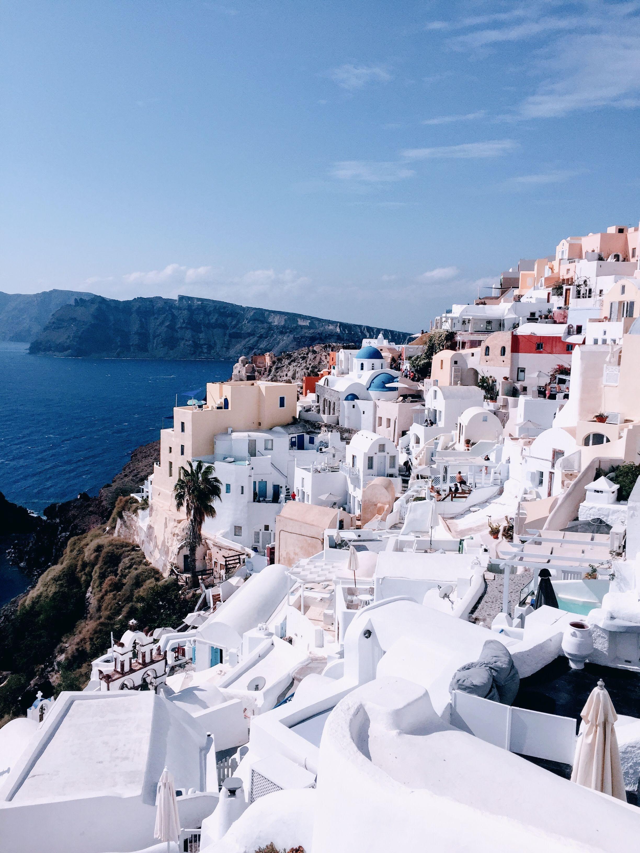 Santorini : mon voyage avec Upgrade Me Network