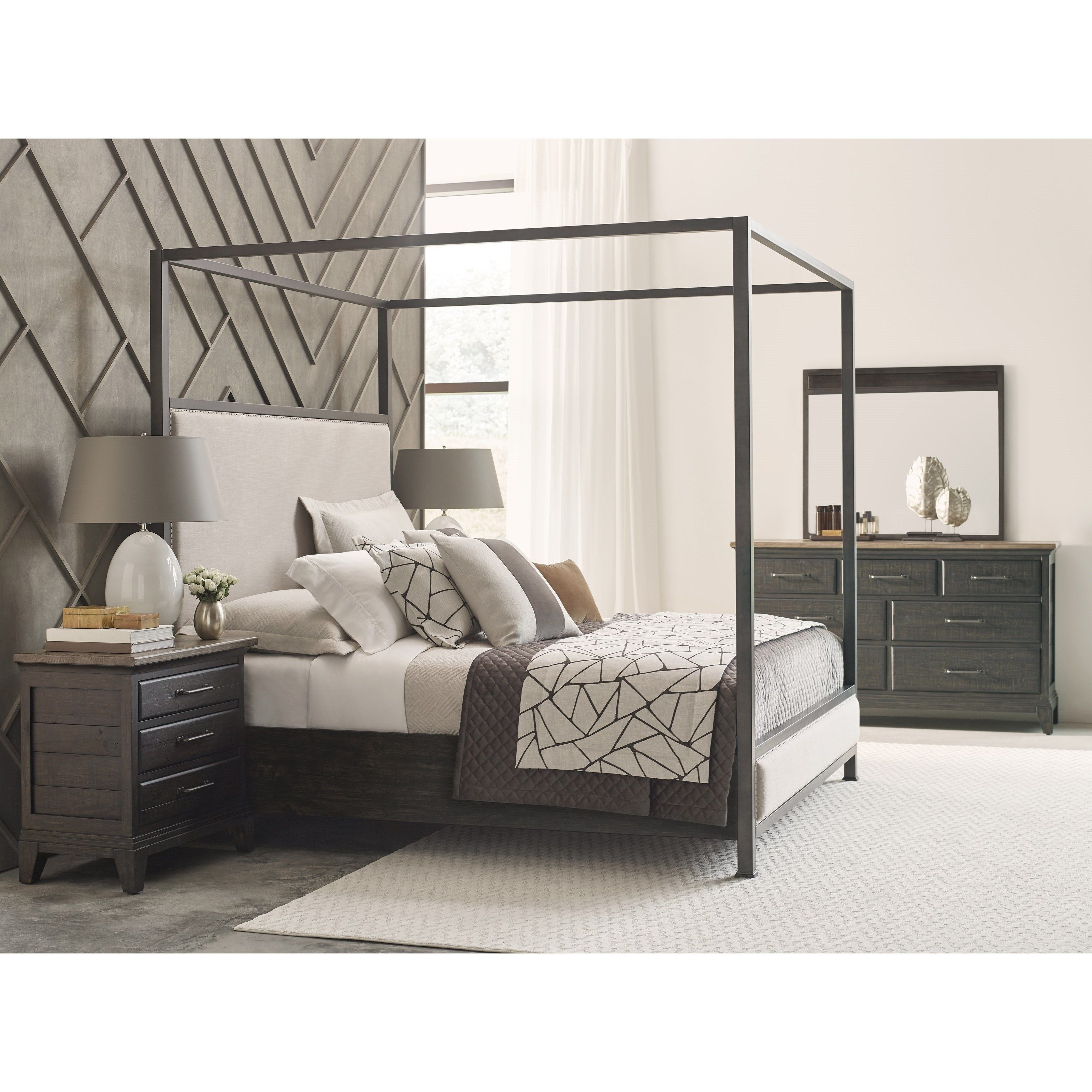 Plank Road Queen Bedroom Group By Kincaid Furniture Canopy