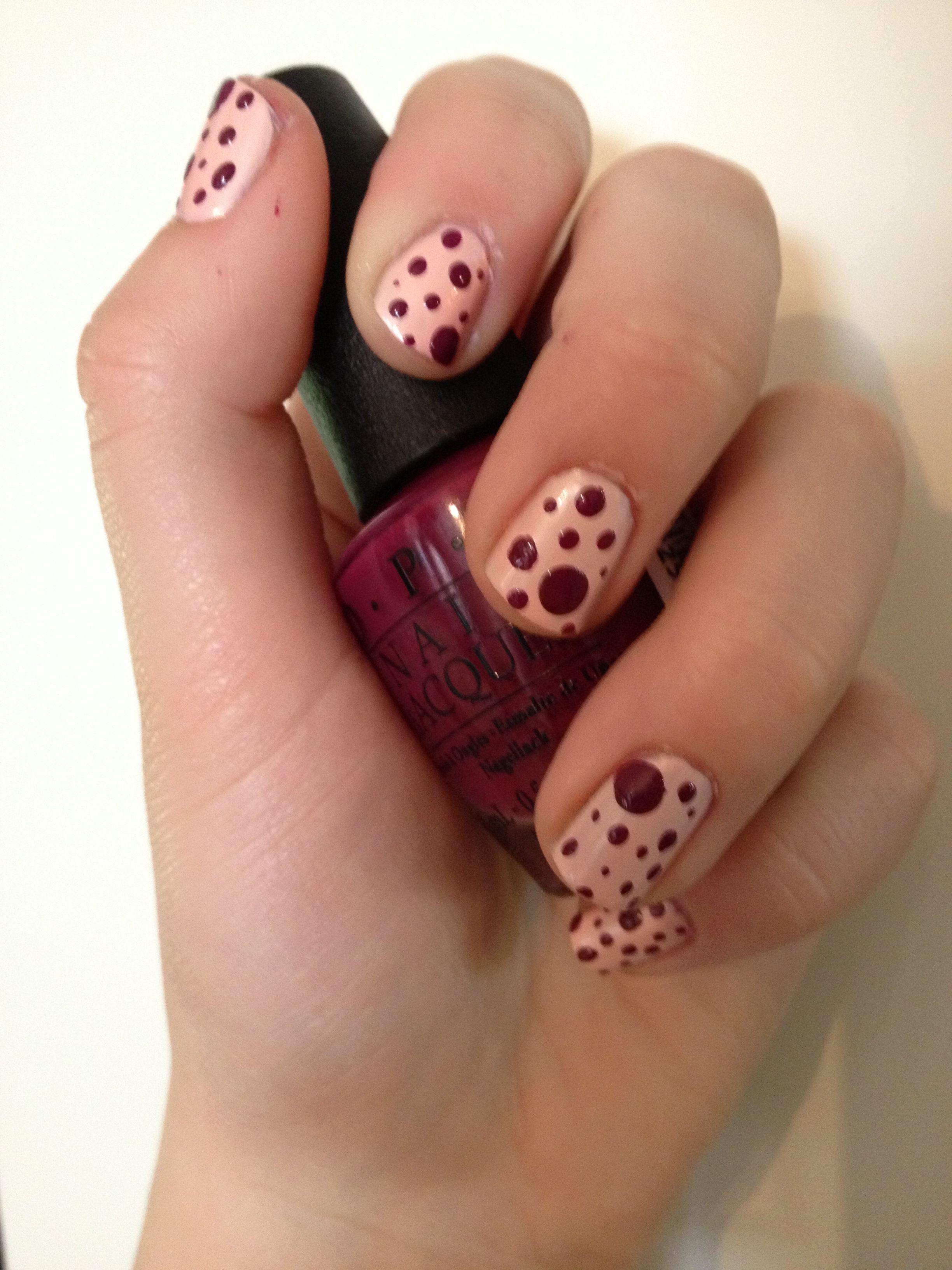 OPI Italian love affair with OPI anti-bleak polka dots. Love the ...