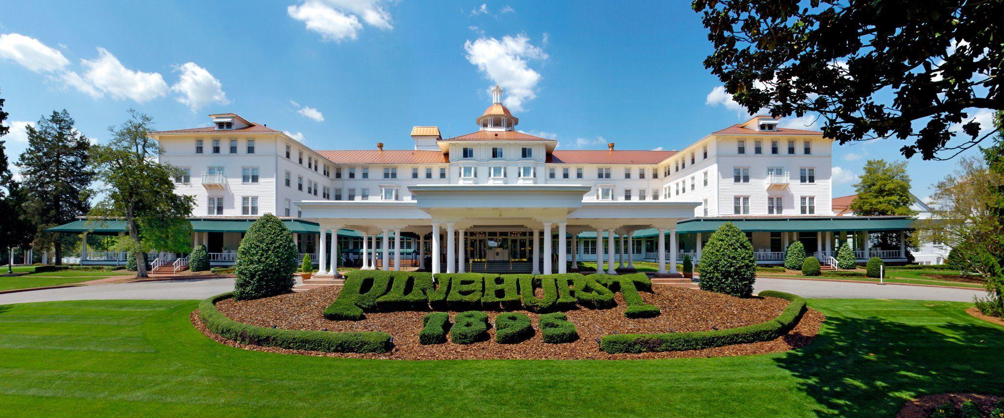 Pinehurst design golf courses pinterest for Hotel design course