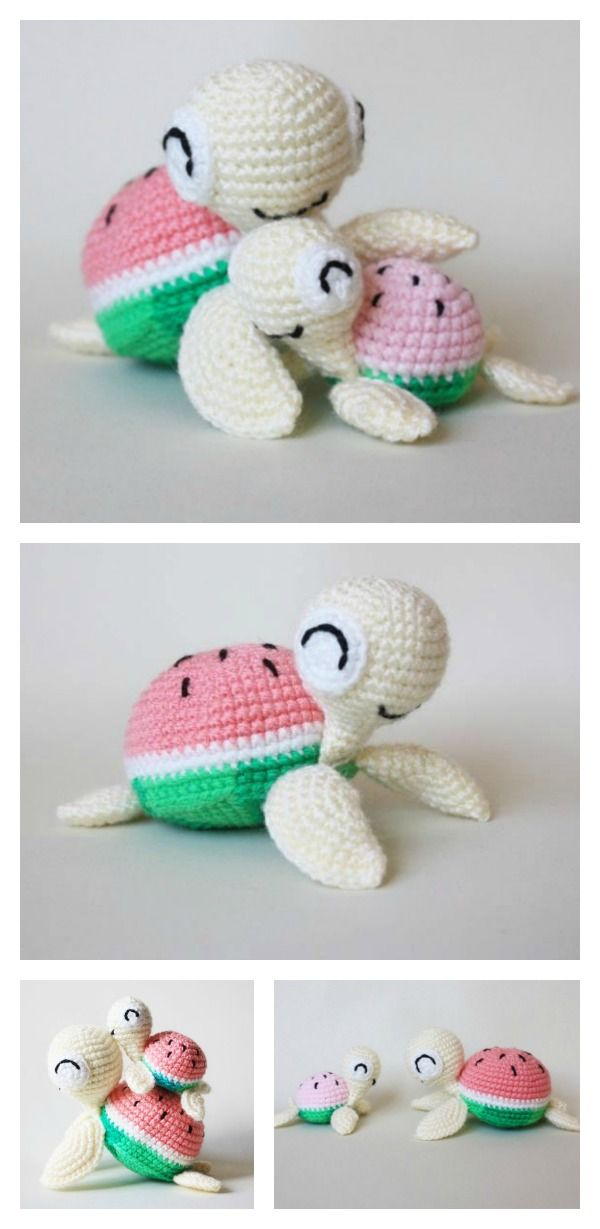Crochet Turtle Amigurumi Free Patterns | Crafting | Pinterest ...