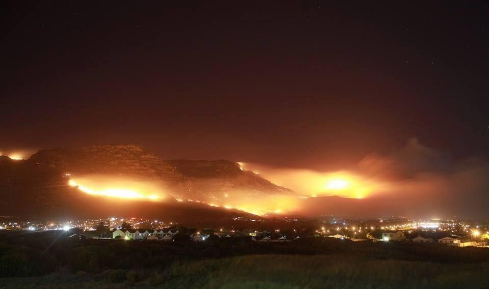 Cape town fires tragically beautiful httpslottostar