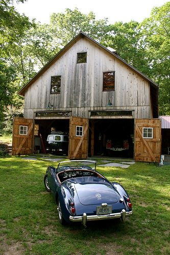 mga and barn by bigred550m via flickr fiat 39 s and a little more pinterest barn cars and. Black Bedroom Furniture Sets. Home Design Ideas