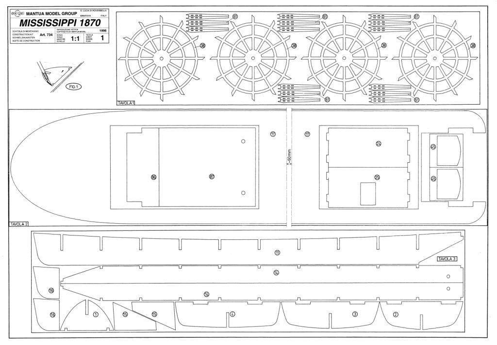 Modelismo Naval Construcci N Del Mississippi Queen
