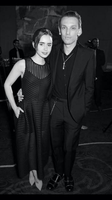 "Jamie: ""A special night made 10x more so by having this lovely by my side."" Photo by @davidbenett x"