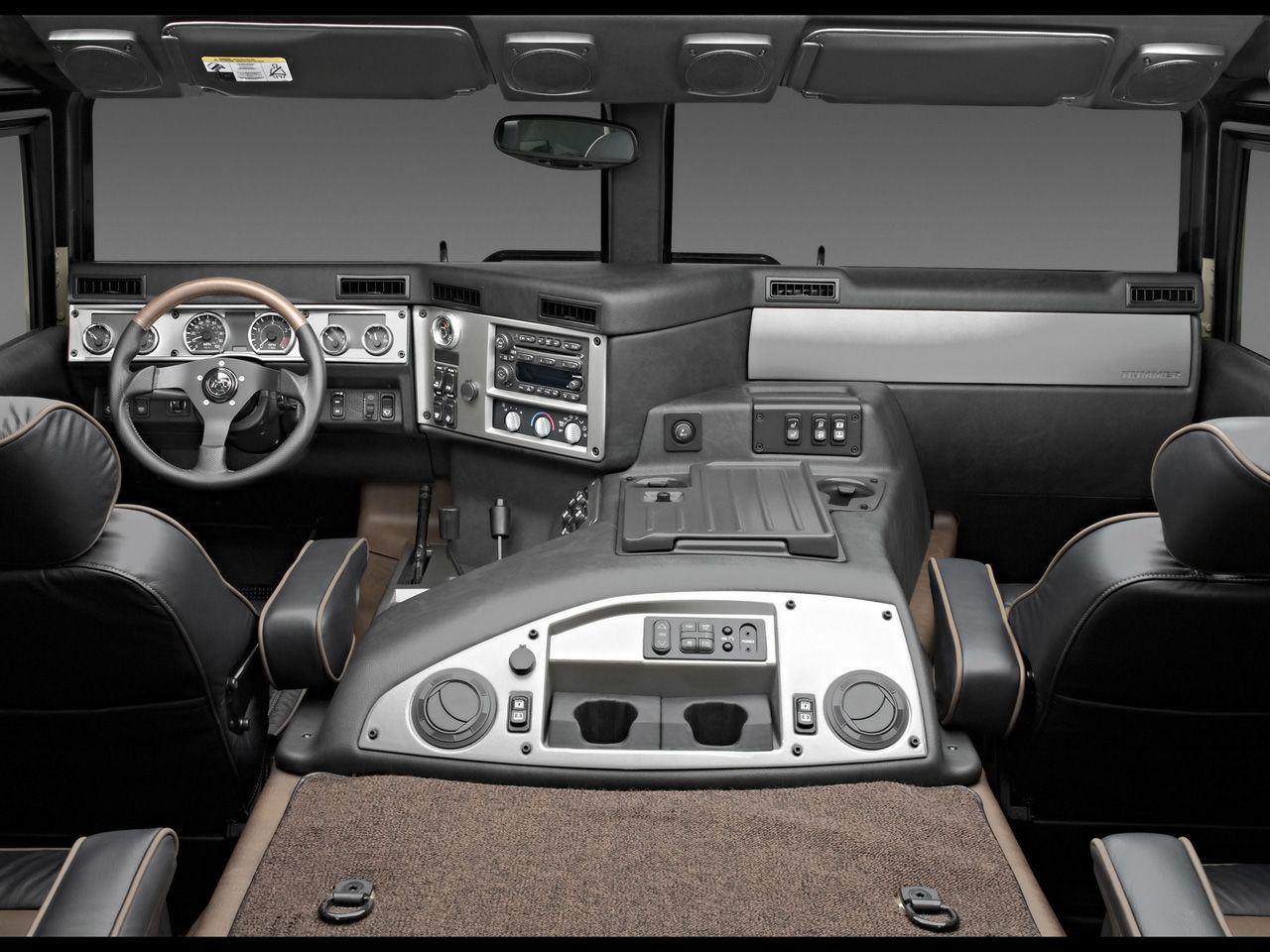 hummer interiors   2004 hummer h1 interior rear seats view 1280x960 ...