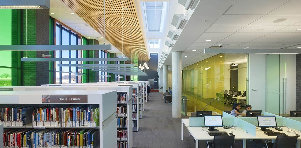 Cornell community centre and branch library library