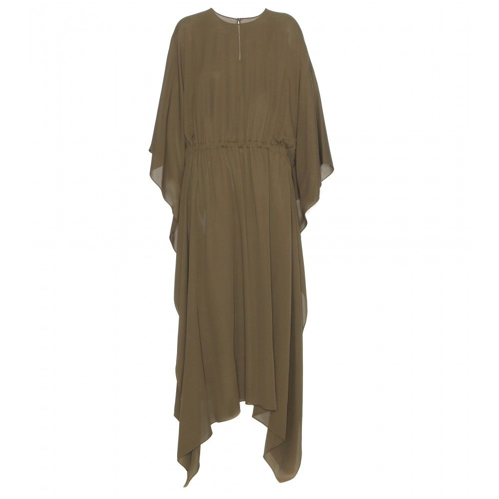 Silk-Crepe Dress ¦ Valentino ∫ mytheresa.com