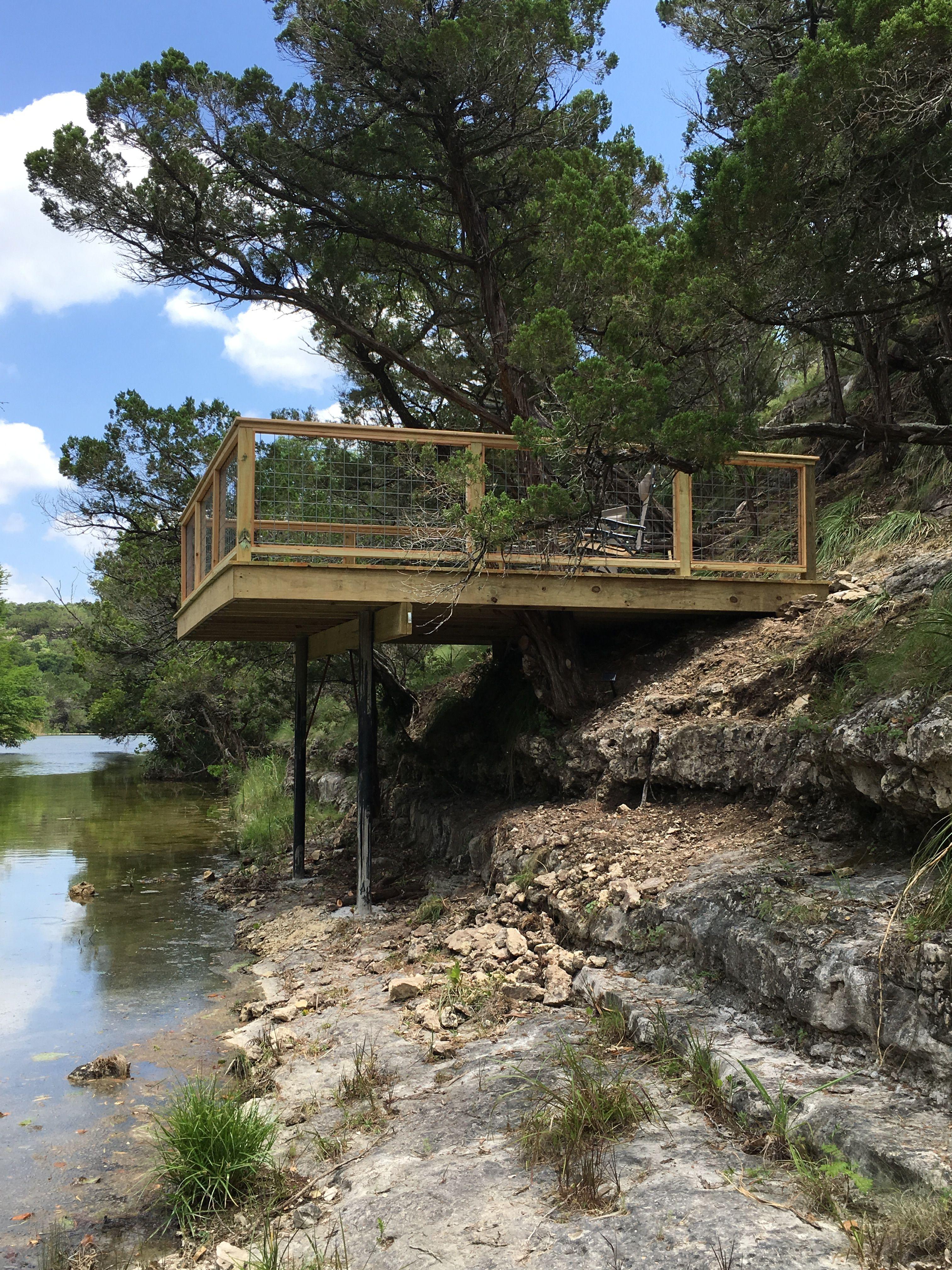 Cantilever Deck Sloped Backyard Hillside Deck Sloped Yard