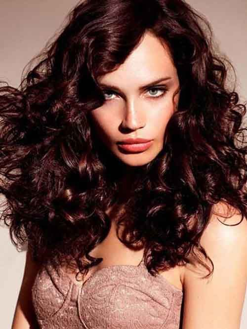 Curly Red Brown Highlights Google Search Being Beautiful