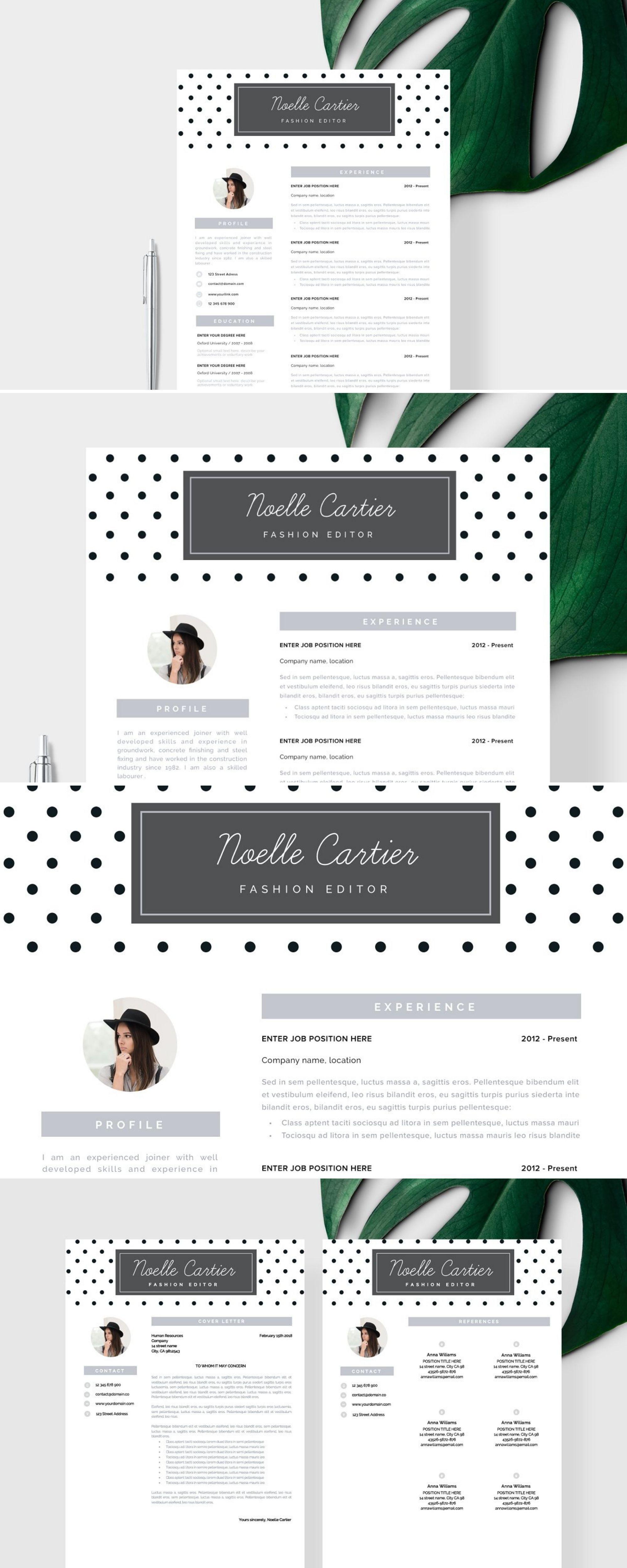 Creative Resume Cv Template Resume Template Business Plan Template Free Business Card Templates