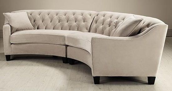 Ordinaire Get Classy Look Inside Your Living Room By Having Italian Curved Leather  Sofa