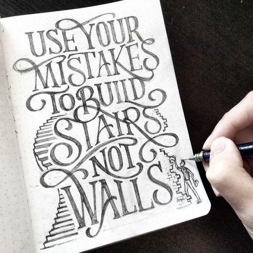 Work by @dandrawnwords #typography #betype #lettering...