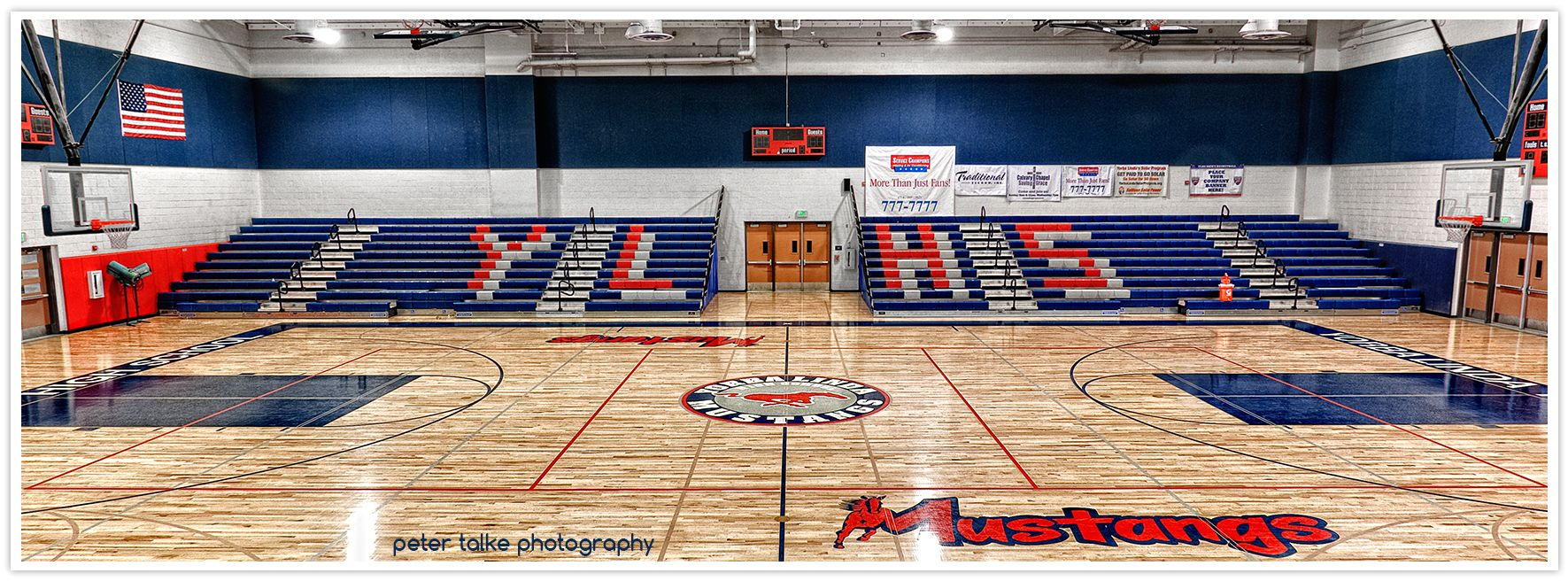 The New Ylhs Basketball Court Like Orange County