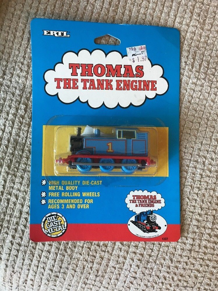 Details about thomas the tank engine ertl Toby And Bertie