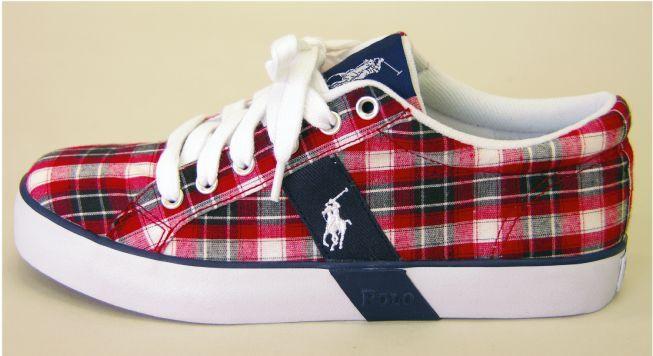 Ralph Lauren Polo Plaid Shoes 2   Plaid