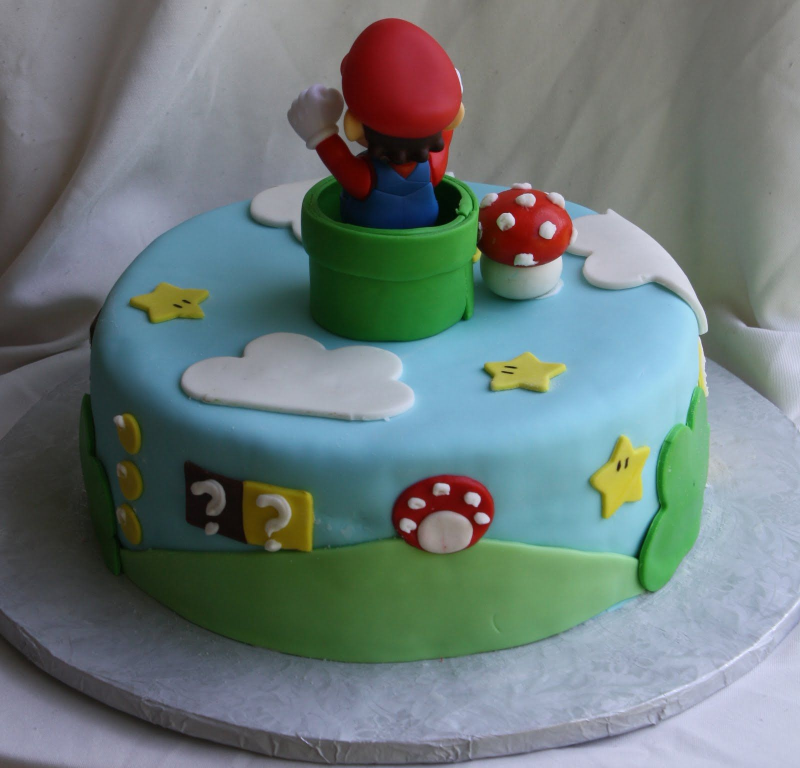 super mario bros cake decoration gateau mario et anniversaires. Black Bedroom Furniture Sets. Home Design Ideas