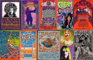 summer of love music posters