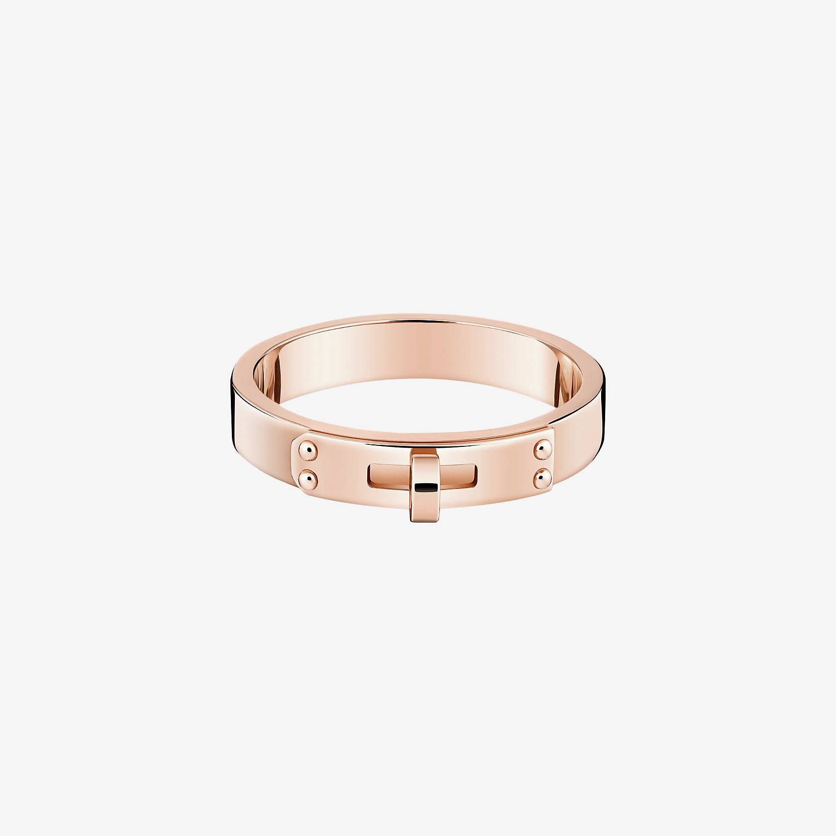 a0d55882e3f0 Kelly ring, very small model 1,800Ring in rose gold Product reference   H218677B 00049