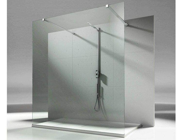Box doccia su misura in cristallo SKIN SB by VISMARAVETRO