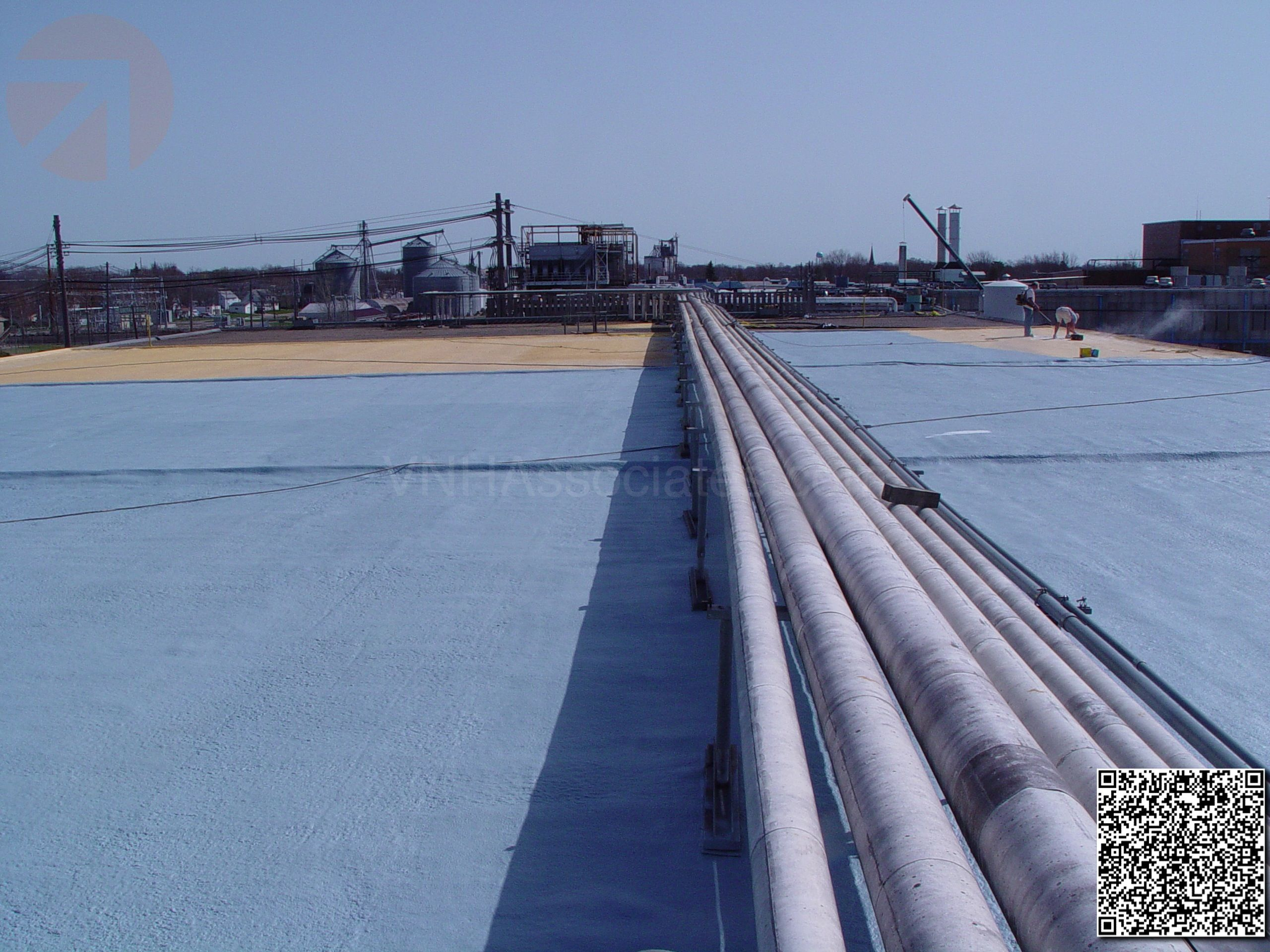 Elastomeric Foam Membrane White Roof Products And Installation Photos Photo Installation Membrane