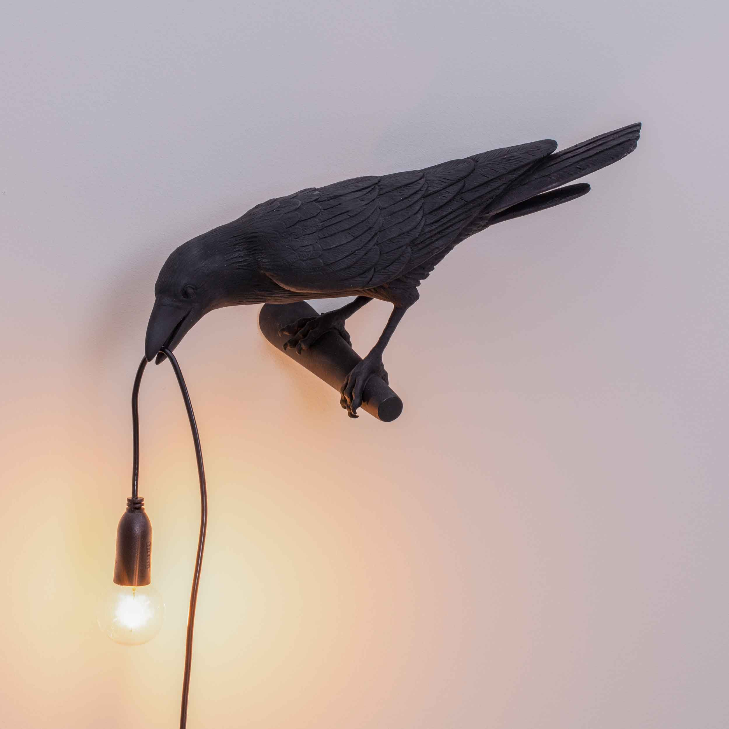 Photo of Seletti Bird Wall Lamp Looking Left