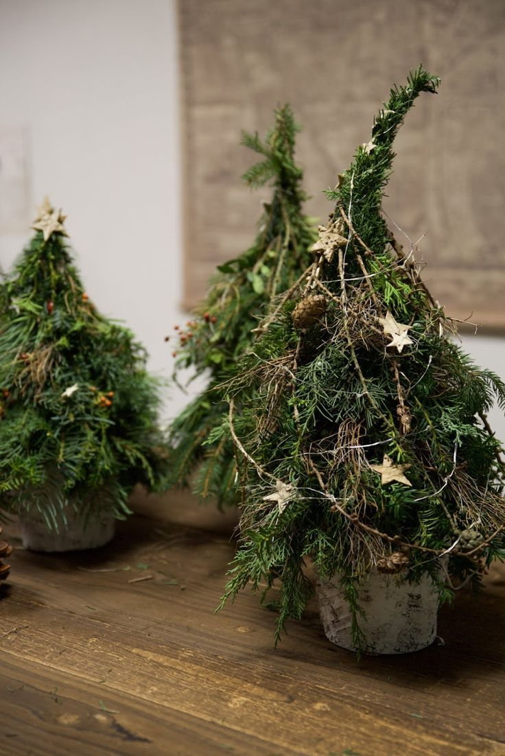 Photo of Workshop review winter decoration made of natural materials from creative-natural-ideas …