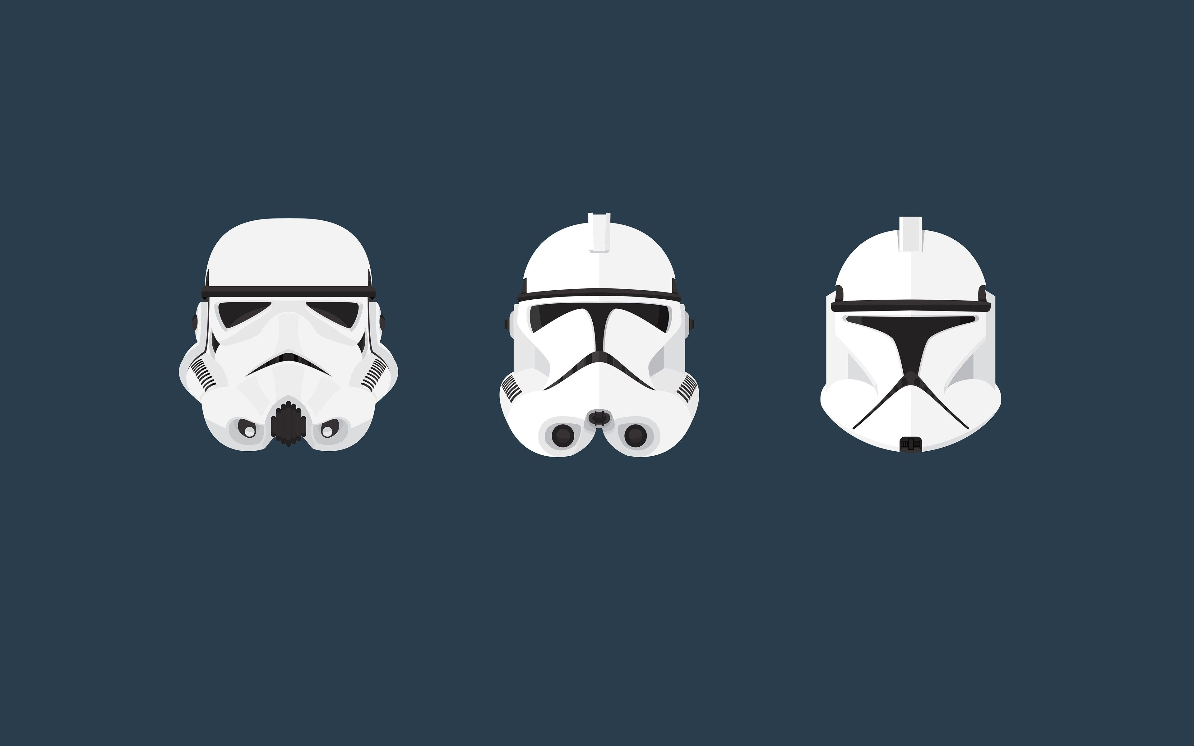 Star Wars Clone Trooper Stormtrooper Helmet Minimalism Wallpaper Download Wallpaper Hd Clone Trooper Hd Wallpaper