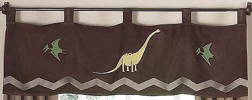 """Dinosaur Land 84"""" Curtain Valance"""