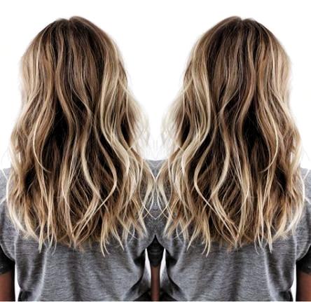 Pin By Jaden Prigge On Hair Dye Ideas Medium Hair Styles Hair Styles Hair Waves