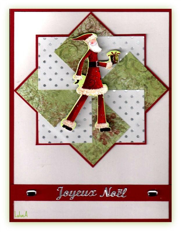 Carte Origami Père Noel Card Ideas I Pinterest Carte Noel
