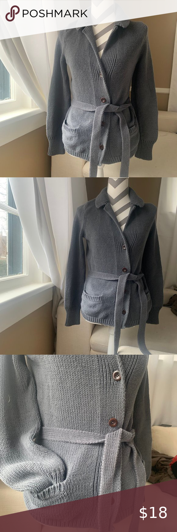 GAP cardigan button does sweater size small Needs a new home 🏡 Make an offer please!  See photos for more info  I am happy to answer and questions …