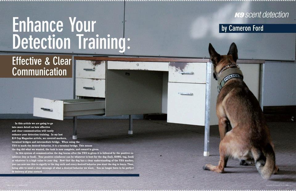 K 9 Scent Detection Enhance Your Detection Training Effective