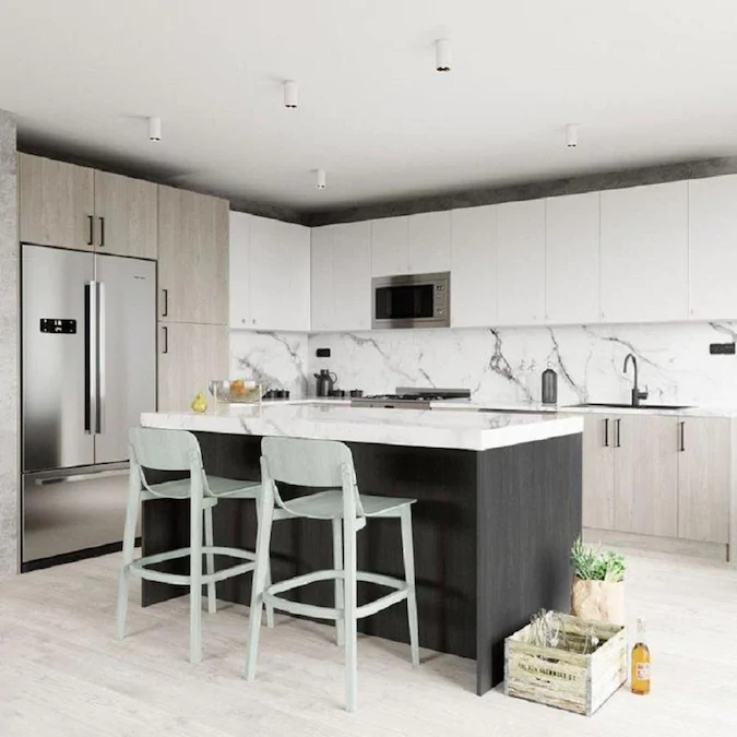 High Gloss White Kitchen Cabinets Lowes