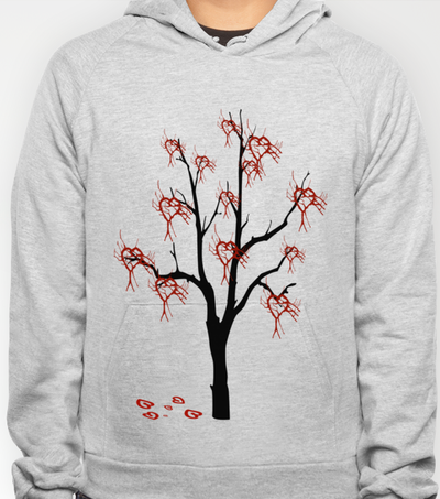 Mourning tree Hoody by LoRo  Art & Pictures - $38.00  copyright by LoRo