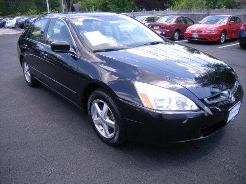 2003 Honda Accord EX L   Black 4 Door