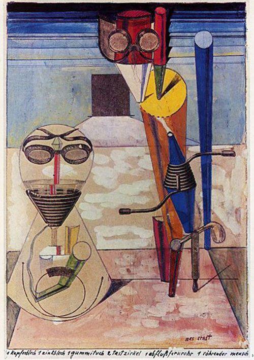 Max Ernst, Ein Kupferblech … (1919-1920)