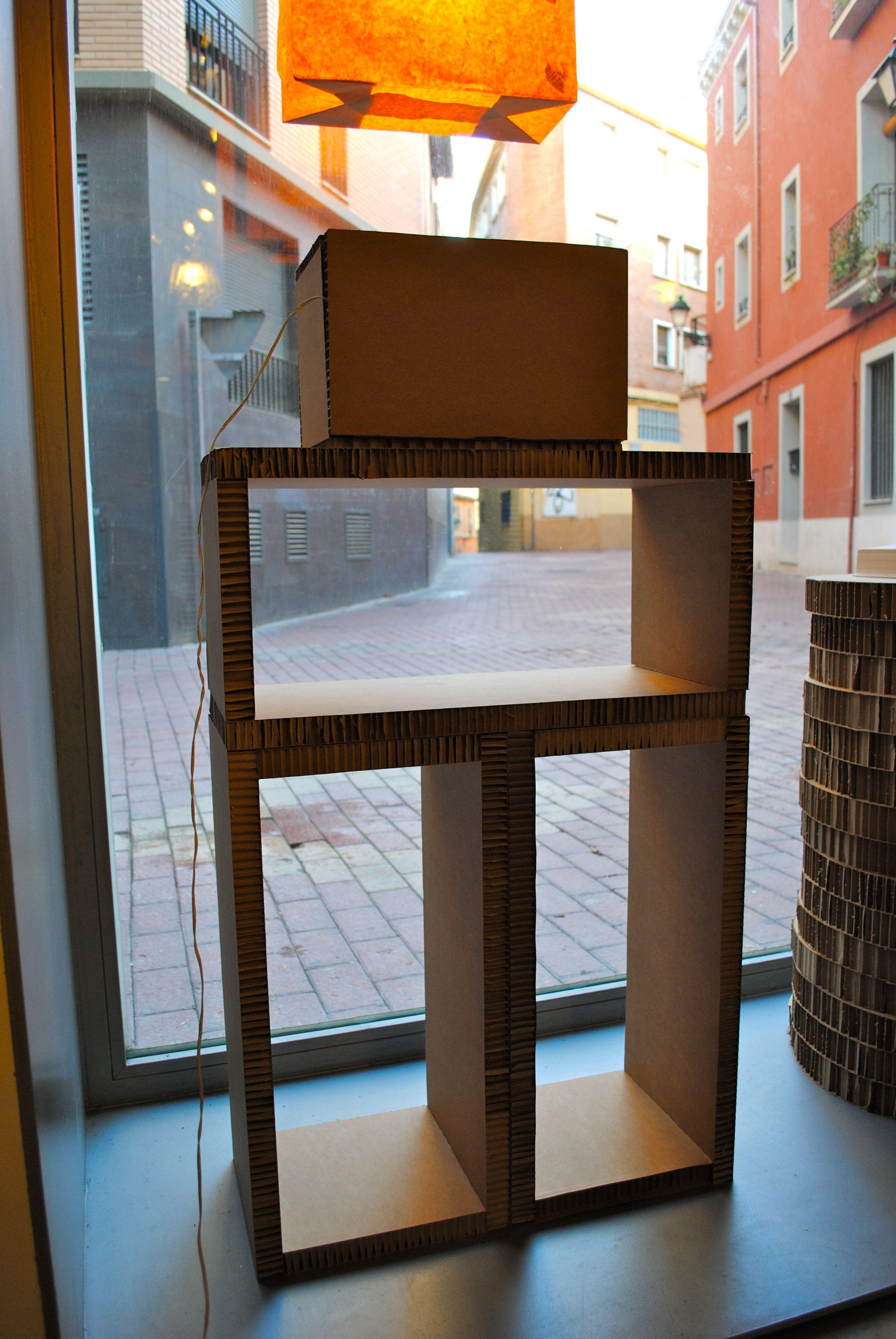 M Dulos De Cart N En Nido De Abeja Para Escaparates Expositores  # Muebles Lazaro Zaragoza