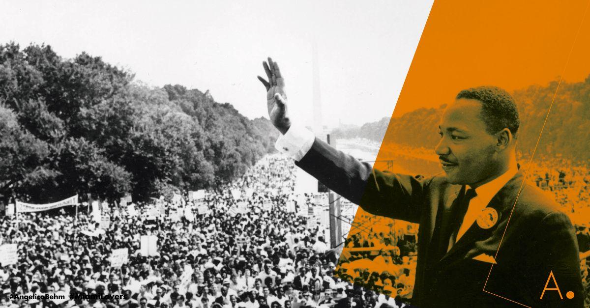 """El ícono de la lucha de los derechos civiles #MartinLutherKing pasó a la historia con su """" #IHaveaDream""""  #Yotengounsueño , frase que pronunció en un emotivo discurso en #Washington ante más de 200.000 personas: """"Tengo un sueño: que un día esta nación se levantará y vivirá el verdadero significado de su credo. Nosotros sostenemos como evidente esta verdad: Todos los hombres son creados iguales"""". #MLKDay"""