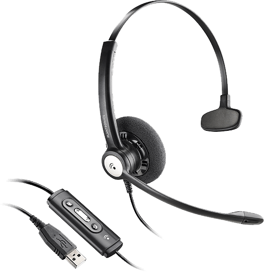 The Best Headsets In Dubai For Office And Call Center With Noise Cancellation Computer Phone Office Headsets Plantron Computer Headsets Plantronics Headset