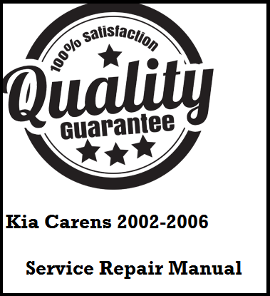 Kia Carens 2002 2003 2004 2005 2006 This a complete