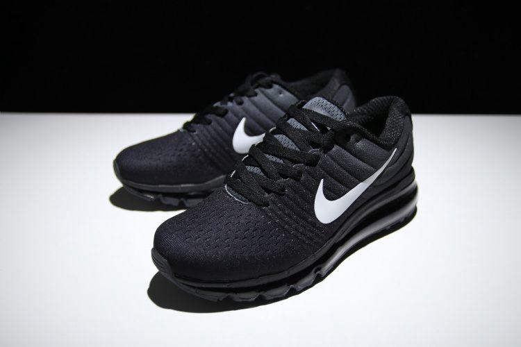 Footwear · Nike Air Max 2017 Women Running Shoes Black White