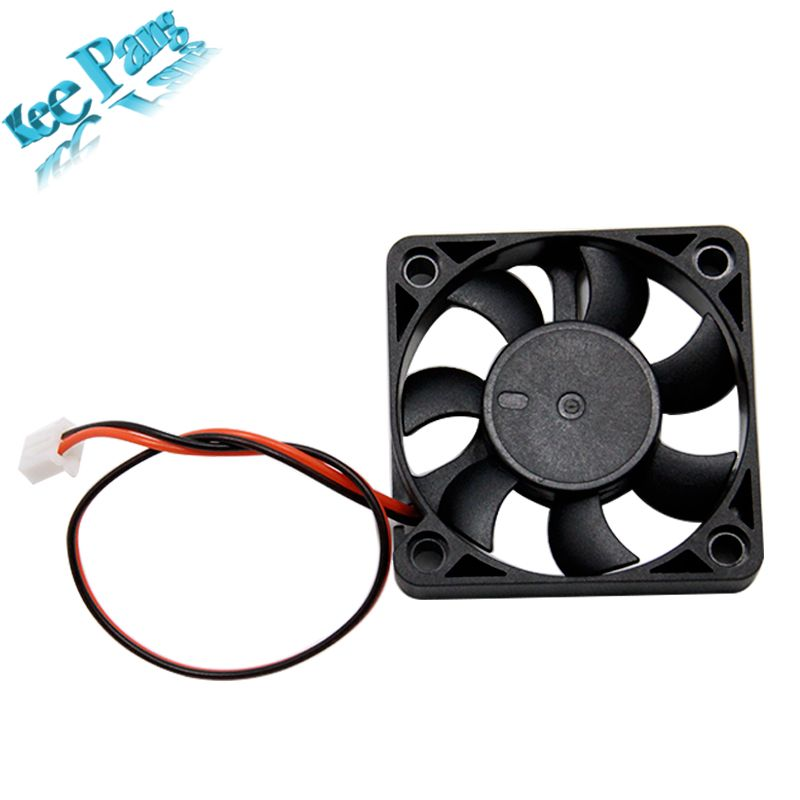 5010 Cooling Fan 12V 50mm Cool 3D Printers Parts 2 pin Brushless 5CM