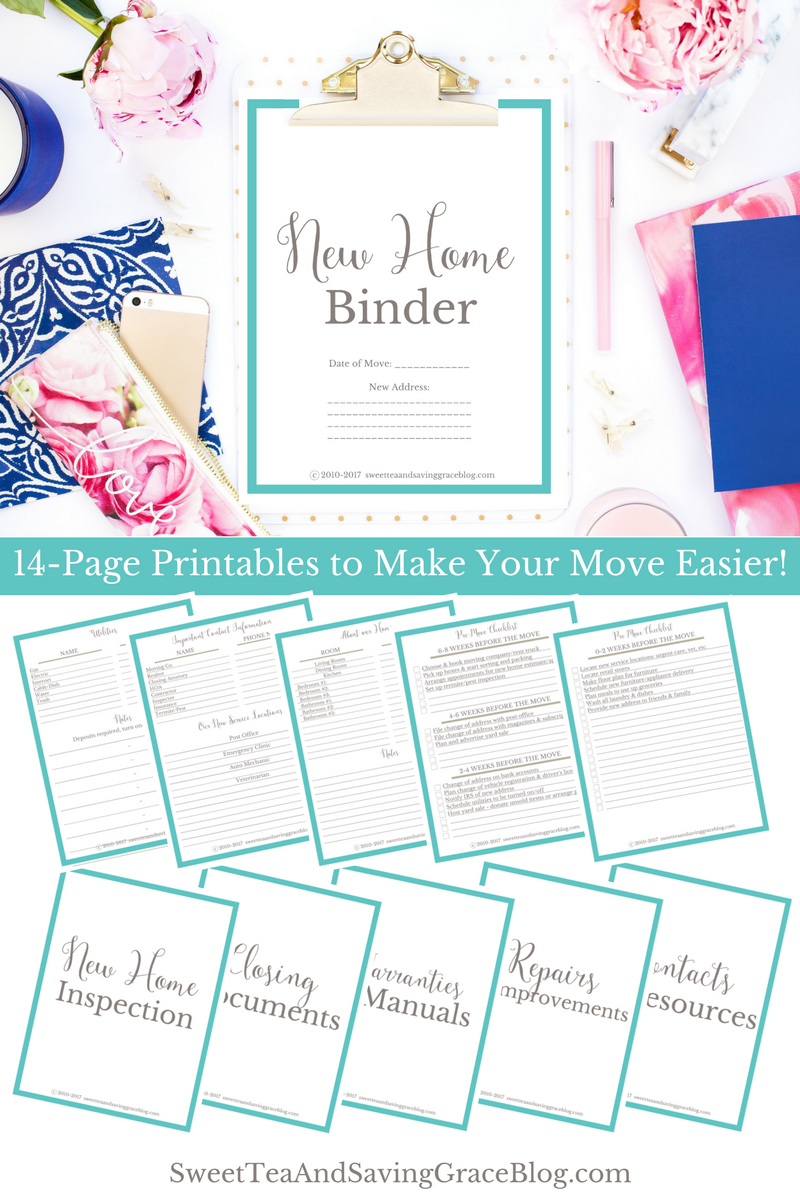 15 Gifts For New Parents Home Binder New Home Checklist Home