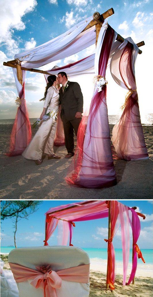 I do it yourself beach wedding arbor weddings beach and nautical i do it yourself beach wedding arbor solutioingenieria Images
