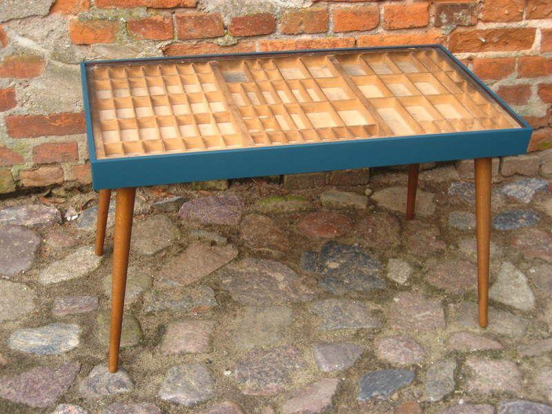 couchtisch tisch beistelltisch setzkasten recycling m bel pinterest setzkasten. Black Bedroom Furniture Sets. Home Design Ideas