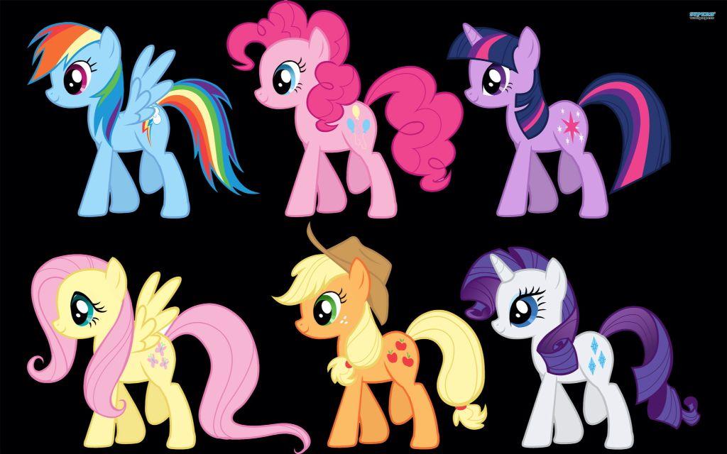 Applejack Raity PinkiePie rainbowdash flutter shy twilight sparkle
