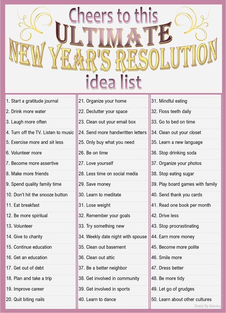 Happy New Year The Best Resolutions And Hangover Tips Mythirtyspot New Years Resolution Happy New Year Words