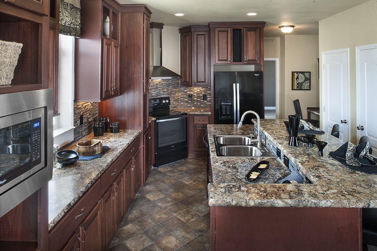 "New Era Modular Homes ""Nice Kitchen""...love Whirlpool's"