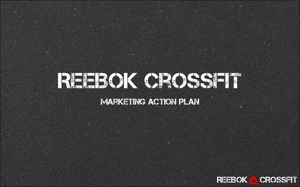 reebok marketing plan